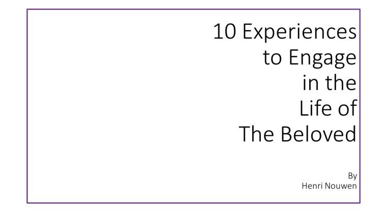 10 Experiences